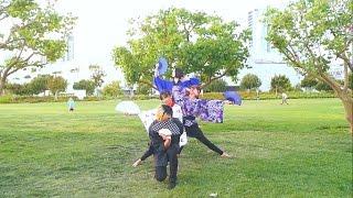 【KABAKABA + Chestnut + Jyuumily】  Senbonzakura // 和楽・千本櫻  踊ってみた