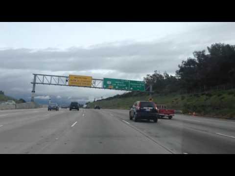 Drive from West LA to Sherman Oaks