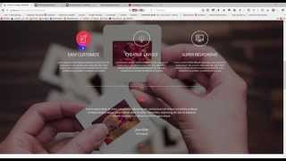 PSD to HTML with Bootstrap for Creative Template (Part-04)