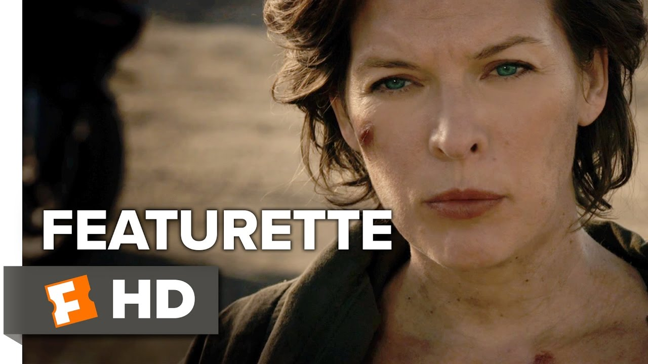 Resident Evil The Final Chapter Featurette Alice Returns 2017