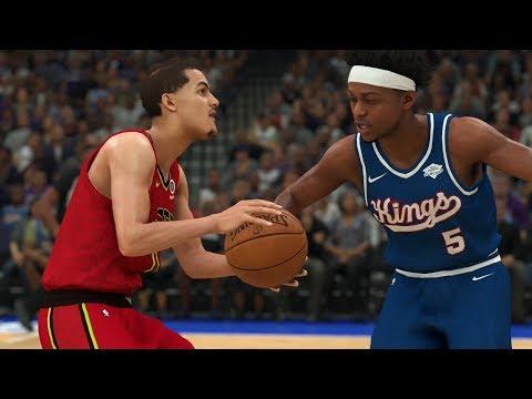 Hawks vs Kings Full Game Highlights | NBA Today 3/26/2020 | Atlanta vs Sacramento (NBA 2K)