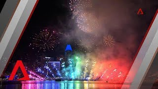 Singapore welcomes 2019 with fireworks display