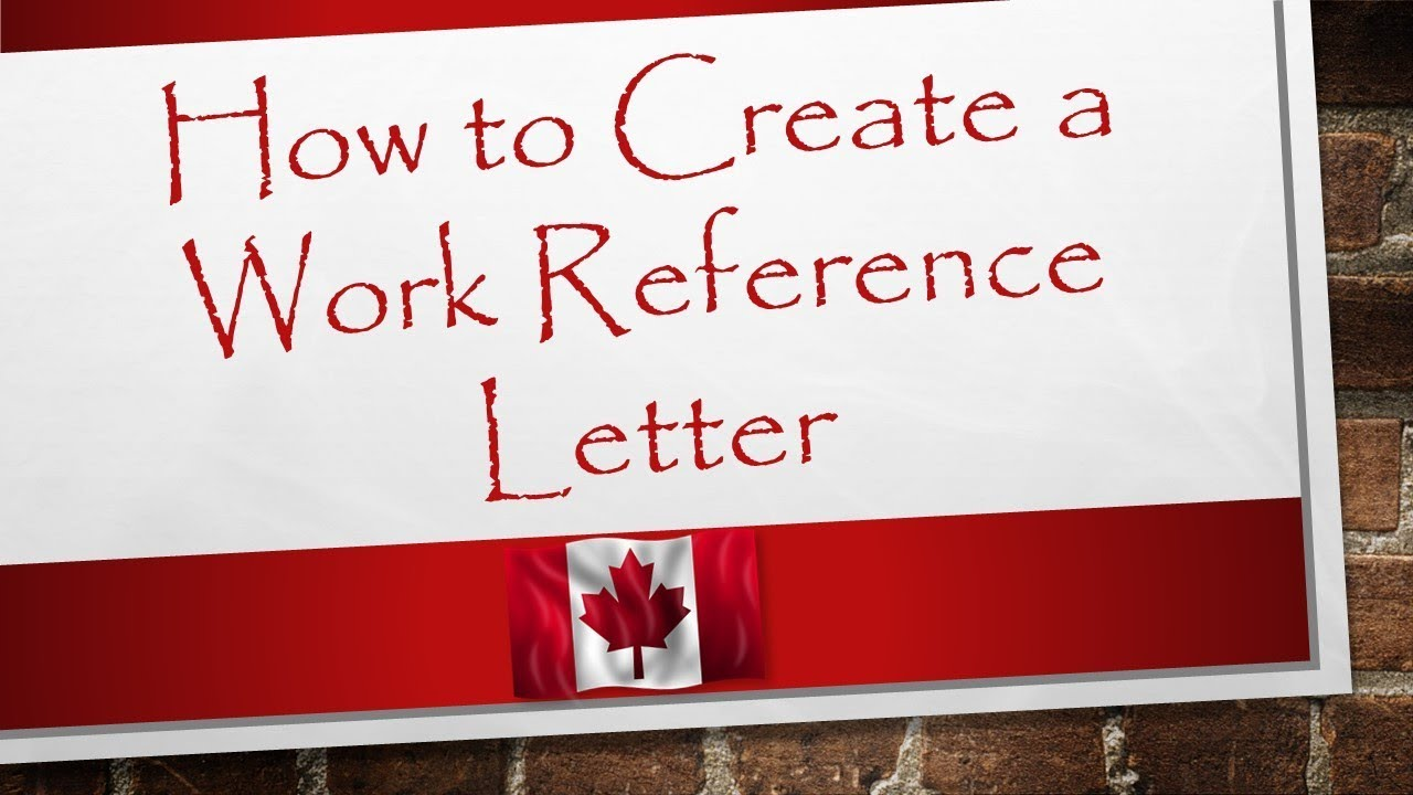 Reference Letter For Canada Immigration from i.ytimg.com
