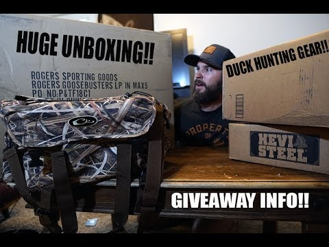 Duck Hunting 2018!! New Gear Unboxing!!