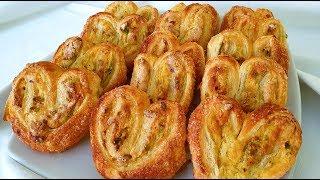 Ventagli  Cuori Di Pasta Sfoglia Con Crema Pasticcera E Pistacchi Di Rita Chef.