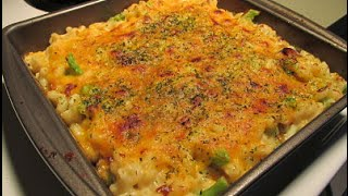 Broccoli Bacon Mac And Cheese