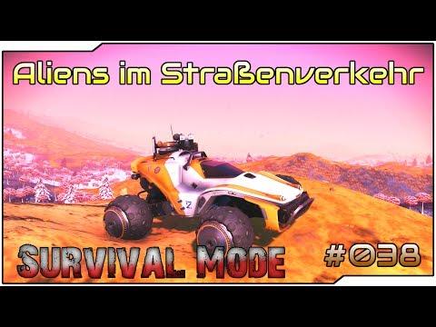 🔴#038 | Aliens im Straßenverkehr | No Man's Sky | Survival Mode | Gameplay | German | Let's Play