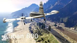 GTA 5: Tous les Avions