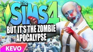 Sims 4 but it's the zombie apocalypse