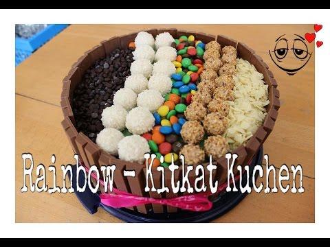 Rainbow Kitkat Kuchen Youtube