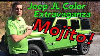 Jeep JL Color Extravaganza Mojito! Edition