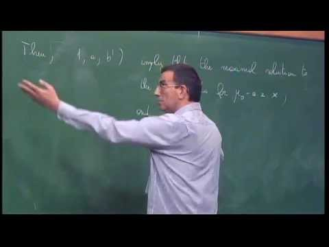 Mini Course - Flow of nonsmooth vector fields applications. Part I - Luigi Ambrosio - Class 1