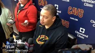 Isaiah Thomas and Ty Lue are looking forward to facing the Warriors
