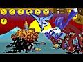 Stick War Legacy - Người Que Lava Đánh Nhau Với Người Que Ice