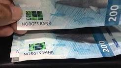 200 NOK NORWAY KRONE BANKNOTES