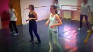 Школа танцев 7Dance - комбинация танцевального номера