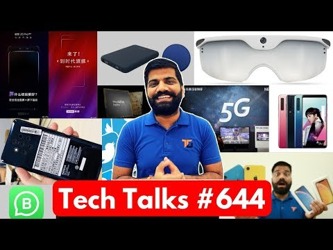 Tech Talks #644 - Bharat WiFi, Facebook Lasso, Samsung 5G Phone, Lenovo Z5 Pro, Whatsapp Business