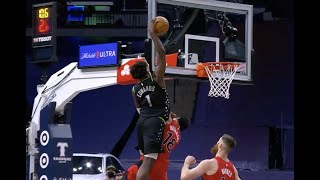Rookie Anthony Edwards Throws Down Poster Dunk Of The Year Against Raptors