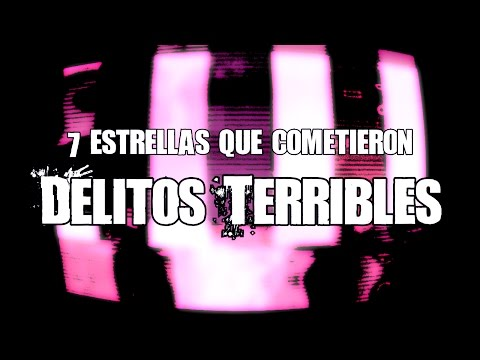 7 estrellas que han perpetrado crímenes terribles  | Dross (Angel David Revilla)