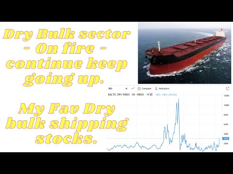 Dry Bulk Stocks - On fire recently and continue keep going. My Fav Dry bulk shipping stocks.