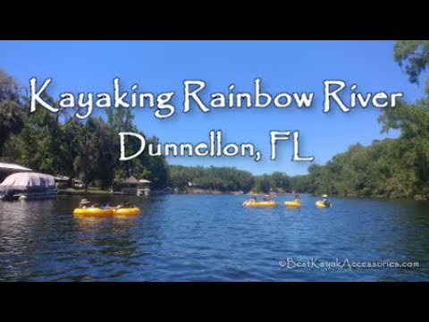 Kayaking Rainbow River Plus Some Snorkeling - Dunnellon, FL 4K