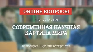 А 1.23 Современная научная картина мира - Философия науки для аспирантов