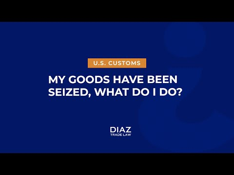 MY GOODS HAVE BEEN SEIZED BY CUSTOMS – WHAT DO I DO? - YouTube