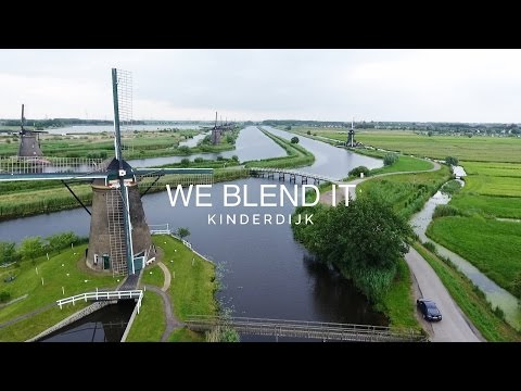 [DRONE VIDEO] Kinderdijk, The Netherlands