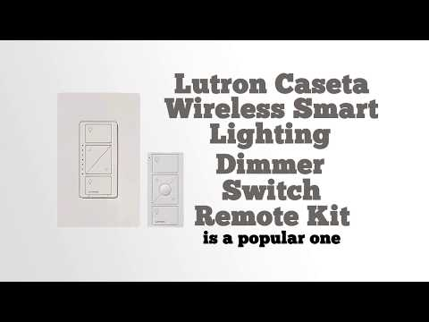 Lutron Caseta Wireless Smart Lighting Dimmer Switch and Remote Kit Review