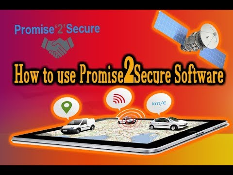 "How to use ""Promise2secure"" Software 