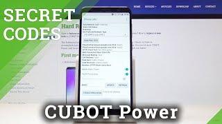 Secret Codes for CUBOT Power - Enable Hidden Module