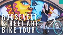 Most Beautiful Roosevelt Row-Street Art Bike Tour | Phoenix, Arizona