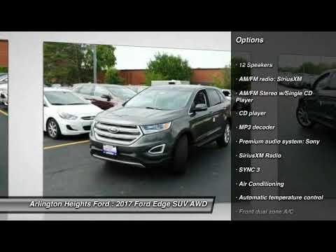 2017 Ford Edge Arlington Heights IL 0Z172248