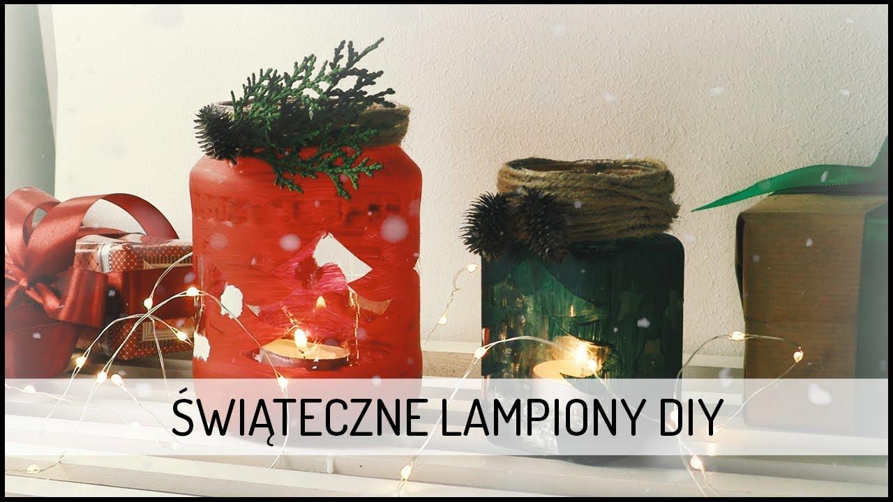 Jak wykonać Świąteczne Lampiony | DIY DOMODI TV