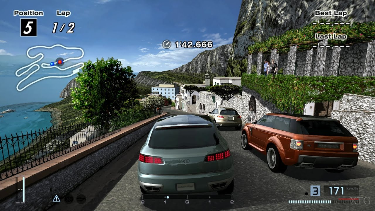 SUVs Touge Battle PS2 Gameplay HD