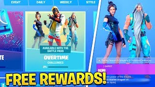 "* NUEVO * Fortnite LEAKED ""OVERTIME CHALLENGES""..!! * RECOMPENSAS GRATUITAS* (Temporada 9)"