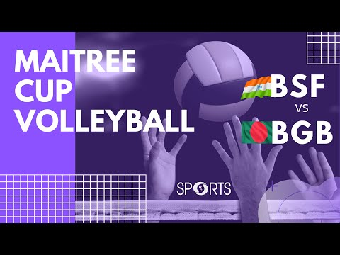 Volleyball Full Match | Maitree Cup | Border Security Force (India) Vs Border Guard (Bangladesh)