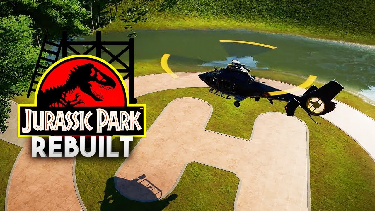 BONUS HELIPAD EPISODE | Jurassic Park 1993 Rebuilt (Jurassic World: Evolution)