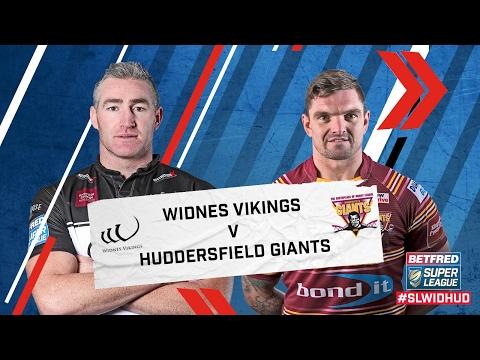 Widnes Vikings v Huddersfield Giants 10.02.17