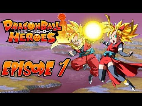 dragon ball heroes ep 1