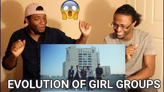 Evolution of Girl Groups- Next Town Down (REACTION)