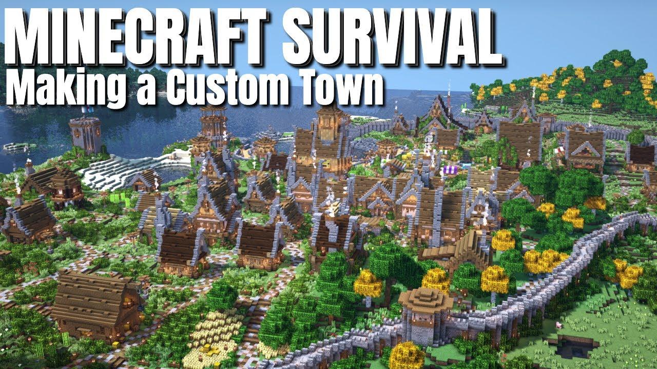 Minecraft Survival   How to Terraform in Survival Minecraft so it looks REAL (Avomancia)