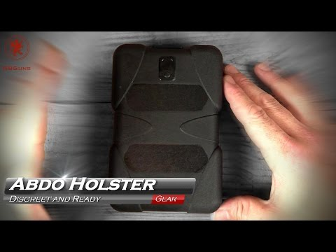 World's Most Dangerous Phone Abdo Holster Review - YouTube