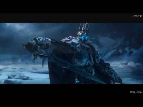 Wrath of the Lich King Cinematic - 60fps upscale project