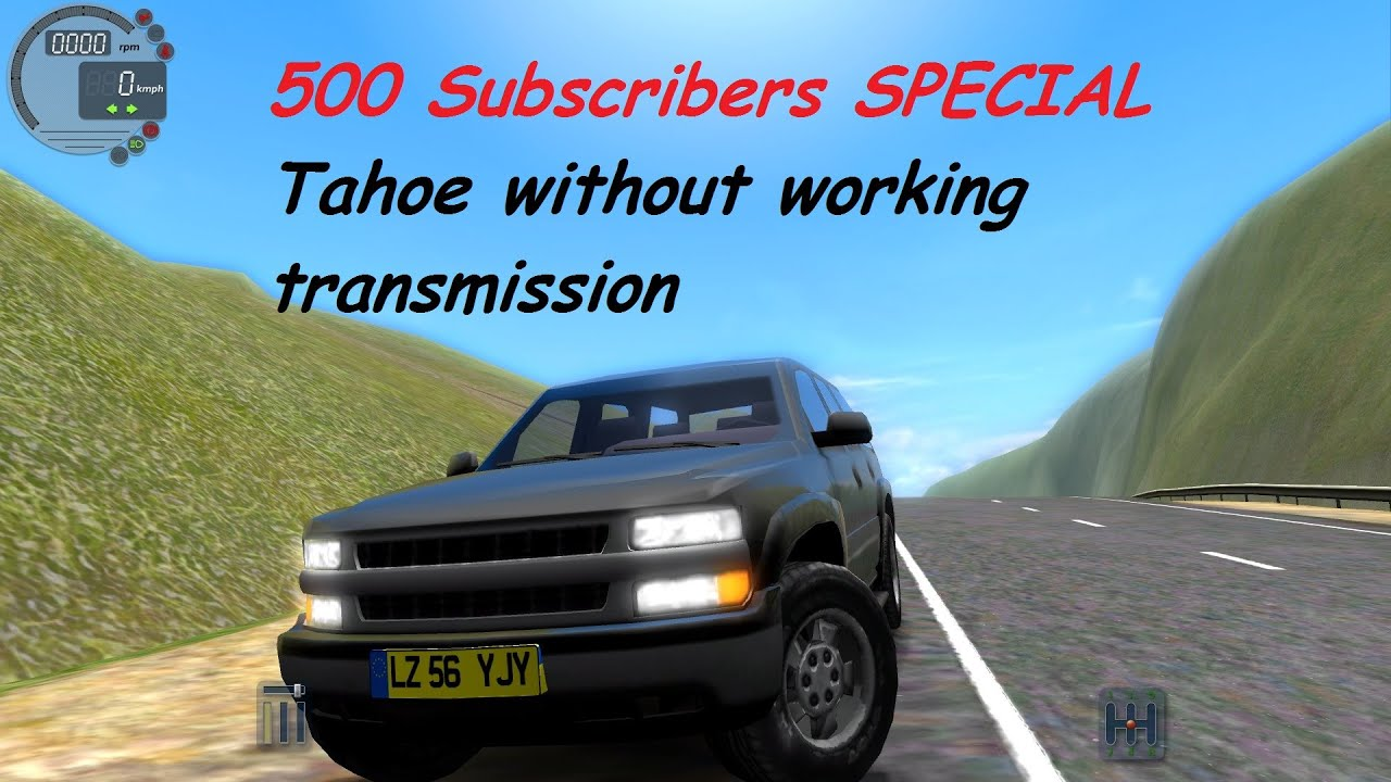 City car driving 1 4 1 chevrolet tahoe 500 sub special g27