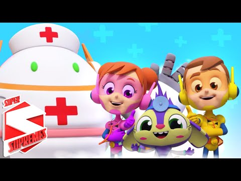 Going To The Doctor | Nursery Rhymes & Kids Songs For Children | Baby Rhyme