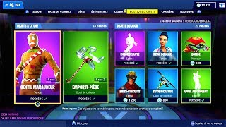 store FORTNITE of December 22, 2018. ITEM SHOP December 22 2018