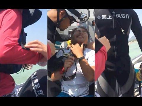 Henoko protester manhandled by Japanese Coast Guard