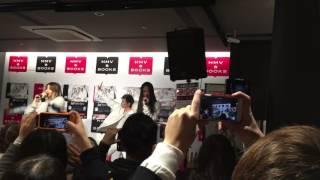 2016.12.12(月) 福岡県 HMV & BOOKS HAKATAにて 4th SG 【bye bye】circ...