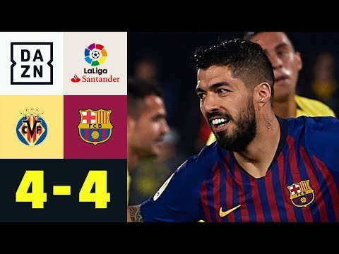 Luis Suarez krönt irre Barca-Aufholjagd: Villarreal - FC Barcelona 4:4 | La Liga | DAZN Highlights